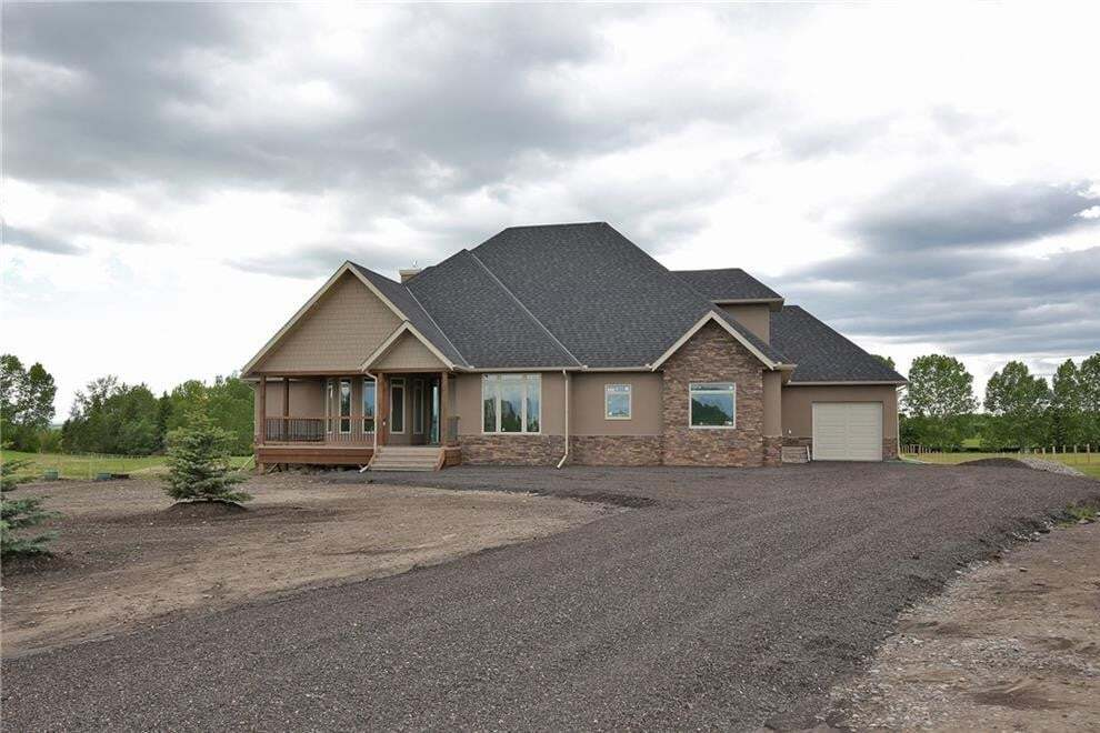 House for sale at 322199 12th St E Rural Foothills M.d. Alberta - MLS: C4283571