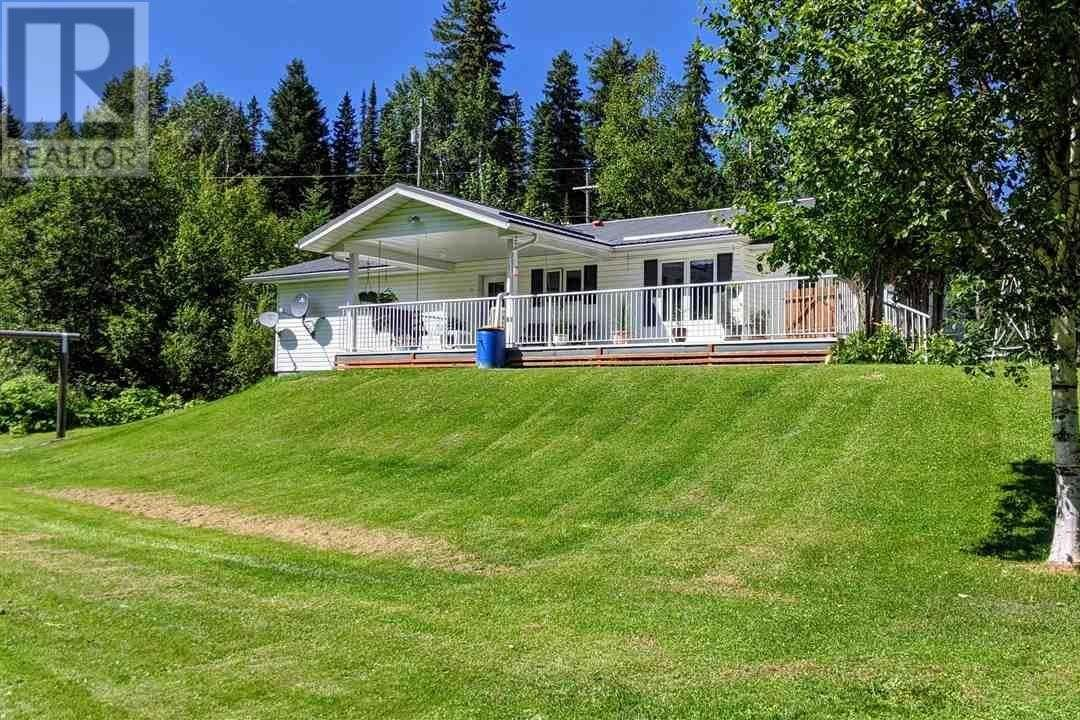 House for sale at 3225 Dore River Rd Mcbride British Columbia - MLS: R2482356