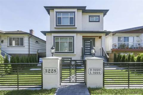 House for sale at 3228 Napier St Vancouver British Columbia - MLS: R2367332