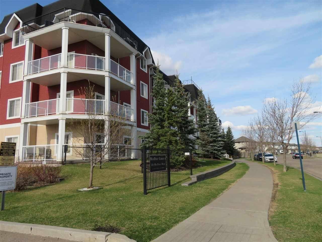 Condo for sale at 226 Macewan Rd Sw Unit 323 Edmonton Alberta - MLS: E4188618
