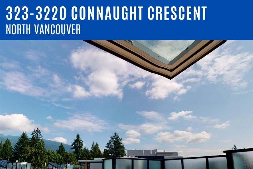 Apartment for rent at 3220 Connaught Cres Unit 323 North Vancouver British Columbia - MLS: R2492620