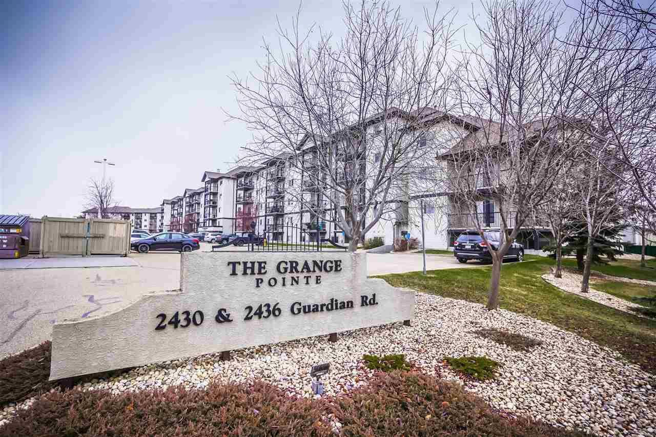 Condo for sale at 2430 Guardian Rd Nw Unit 324 Edmonton Alberta - MLS: E4178409
