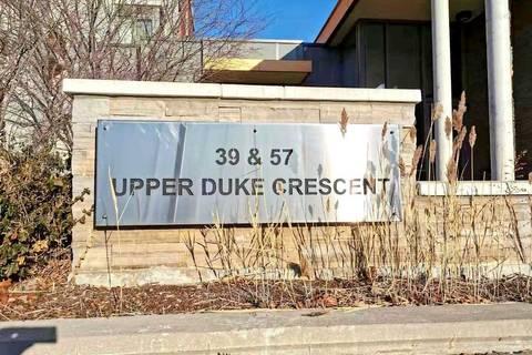 Condo for sale at 39 Upper Duke Cres Unit 324 Markham Ontario - MLS: N4670525