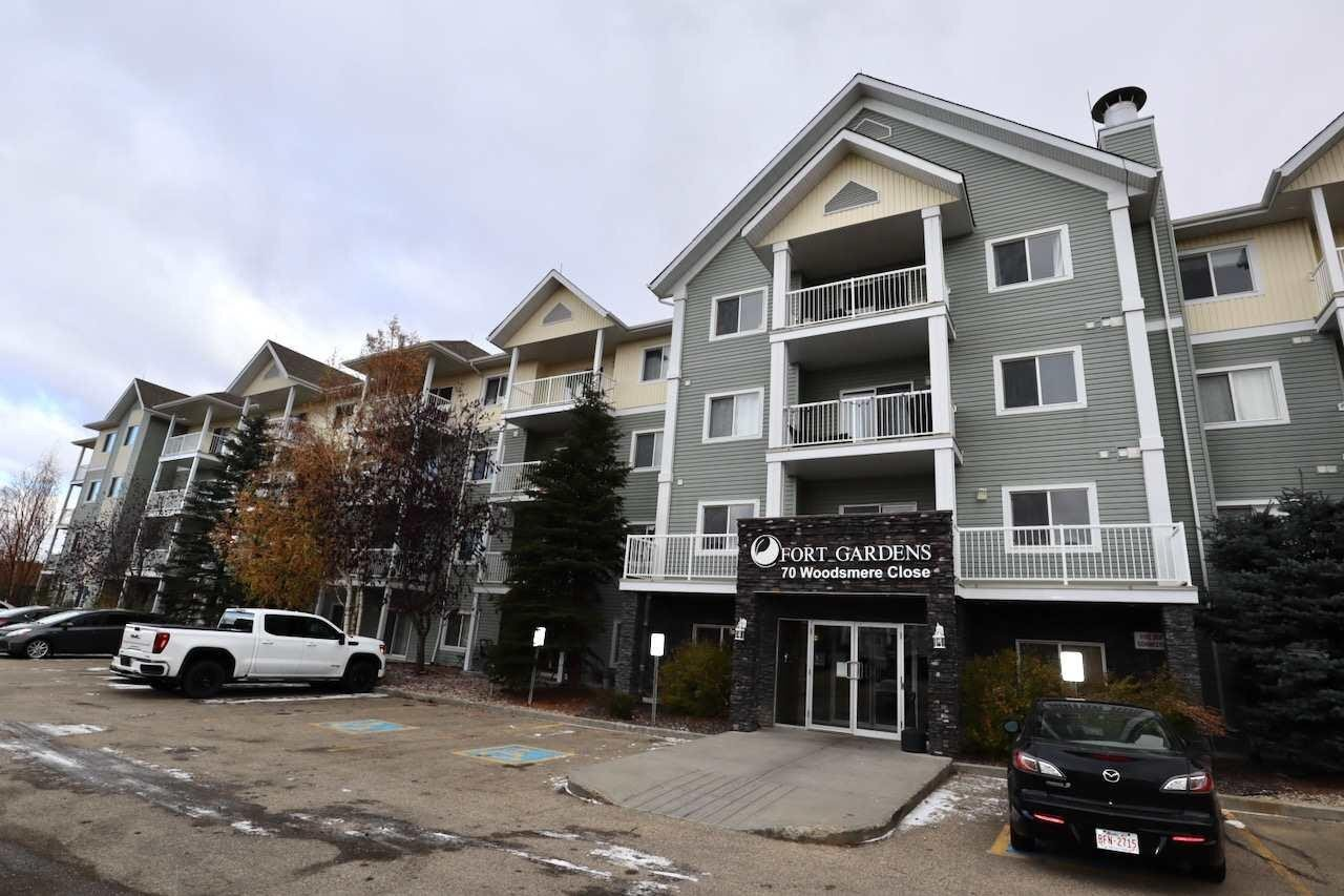Condo for sale at 70 Woodsmere Cl Unit 324 Fort Saskatchewan Alberta - MLS: E4203553