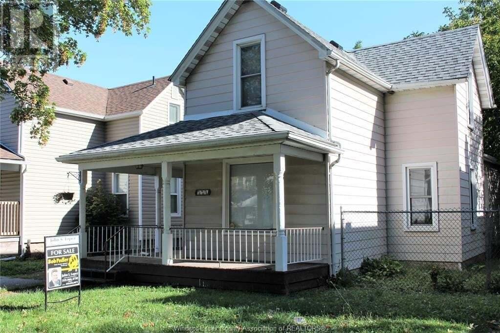House for sale at 324 Bridge  Windsor Ontario - MLS: 20013046