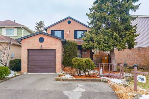 House for sale at 3240 Mccarron Cres Mississauga Ontario - MLS: W4702670