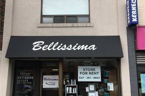 Commercial property for lease at 3244 Yonge St Toronto Ontario - MLS: C4613451