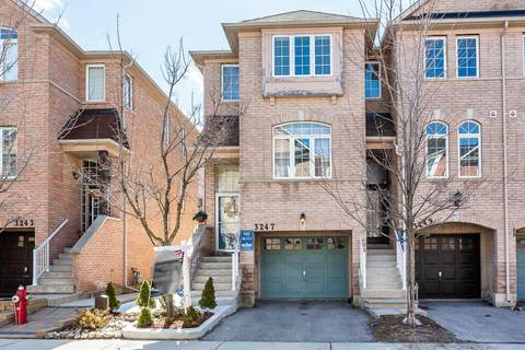 Townhouse for sale at 3247 Redpath Cres Mississauga Ontario - MLS: W4403876