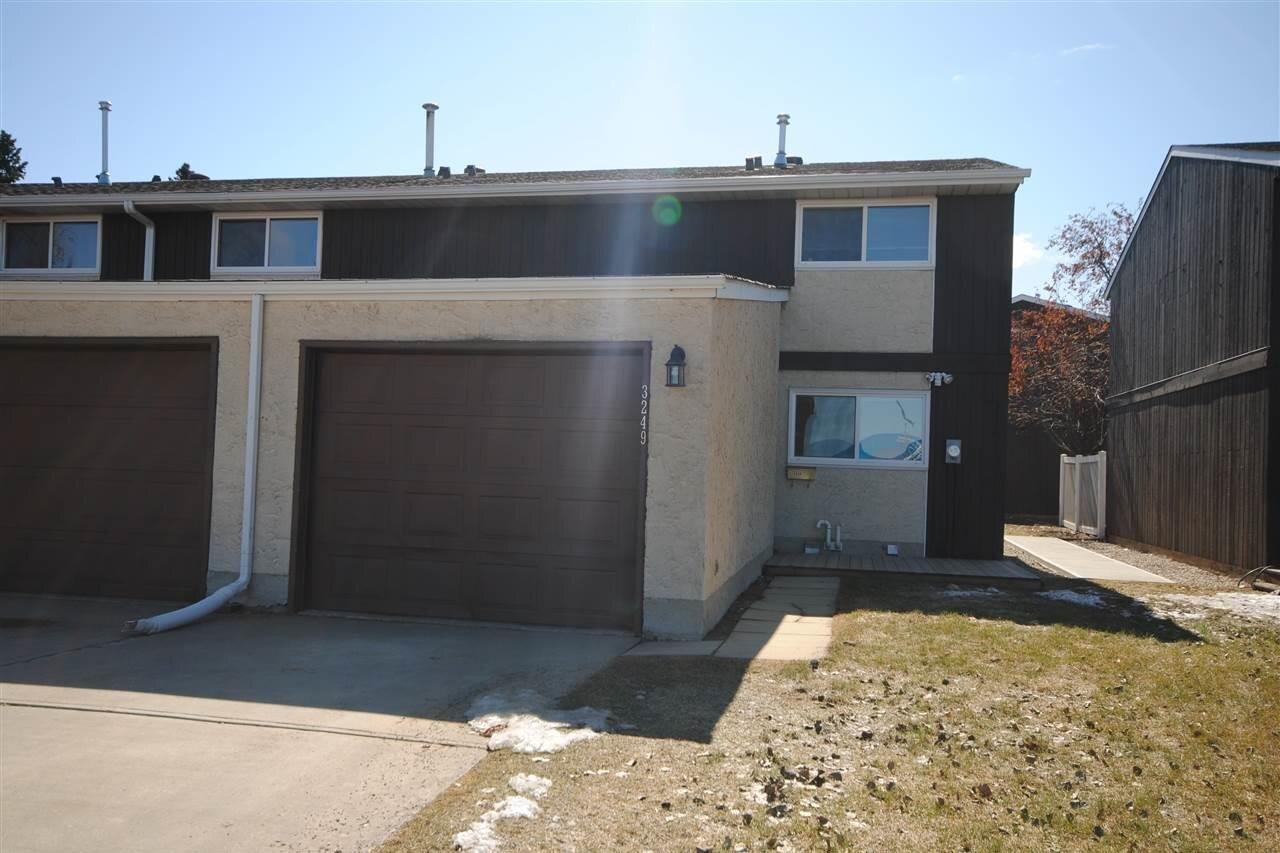 Townhouse for sale at 3249 132a Av NW Edmonton Alberta - MLS: E4219795