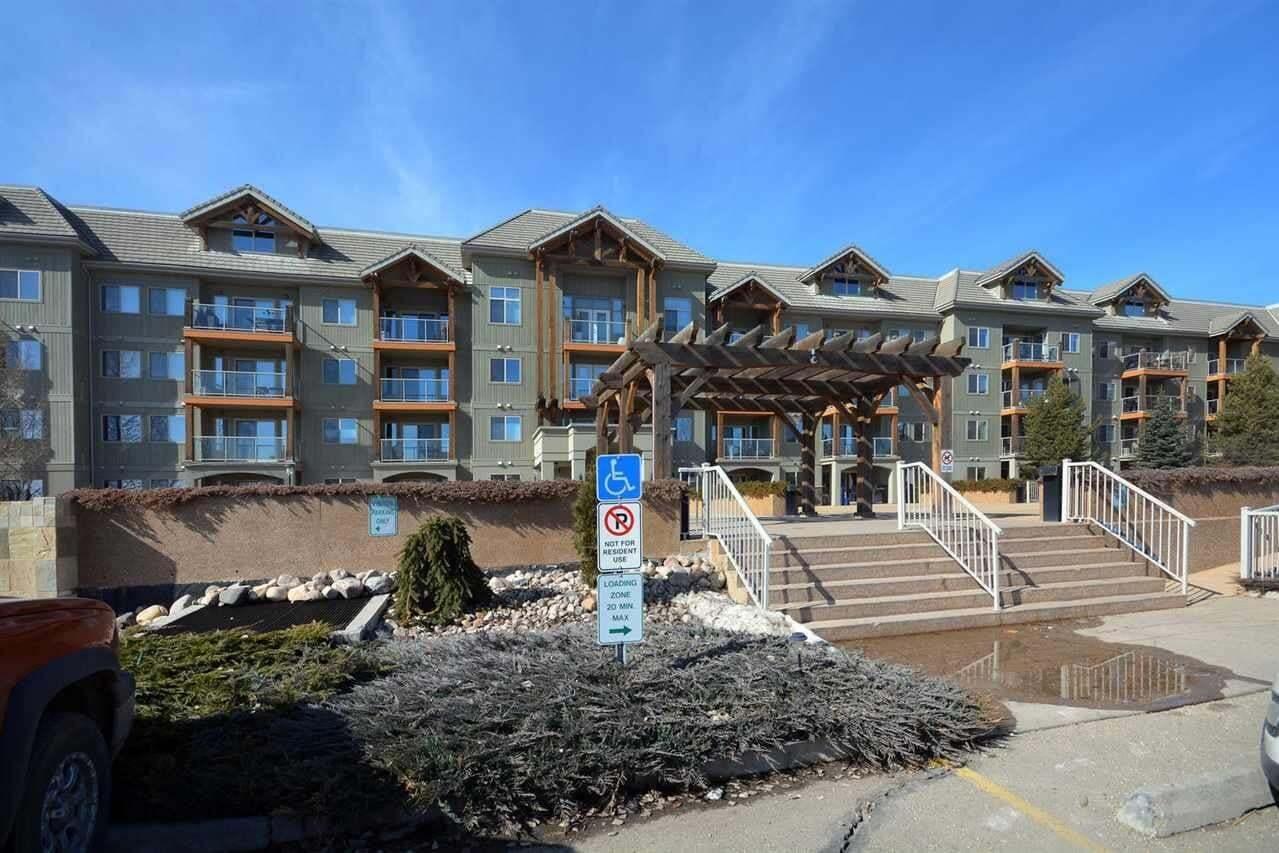 Condo for sale at 278 Suder Greens Dr NW Unit 325 Edmonton Alberta - MLS: E4204686