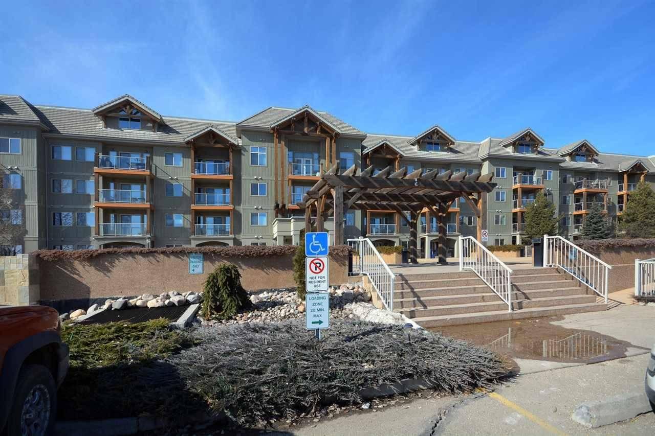 Condo for sale at 278 Suder Greens Dr Nw Unit 325 Edmonton Alberta - MLS: E4187800