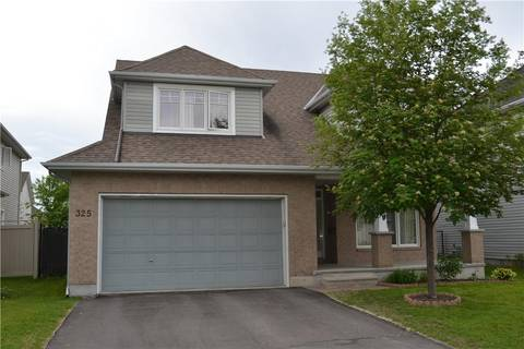 House for sale at 325 Creston Valley Wy Ottawa Ontario - MLS: 1145607