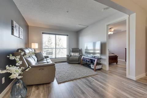 Condo for sale at 1180 Hyndman Rd Nw Unit 326 Edmonton Alberta - MLS: E4155993