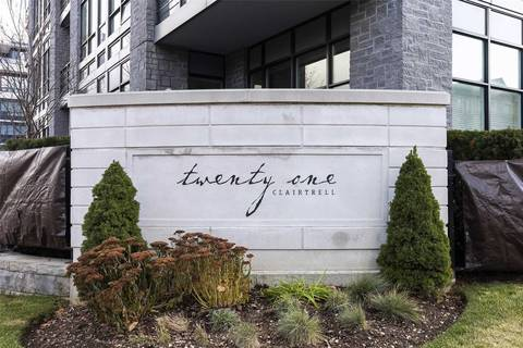 Apartment for rent at 21 Clairtrell Rd Unit 326 Toronto Ontario - MLS: C4645896