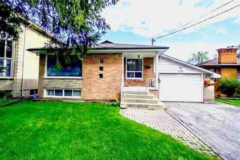 House for sale at 326 Connaught Ave Toronto Ontario - MLS: C4548744