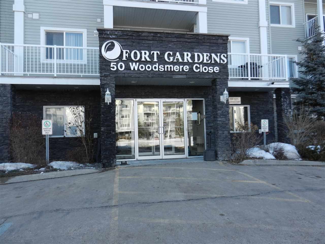 For Sale: 327 - 50 Woodsmere Close, Fort Saskatchewan, AB | 2 Bed, 2 Bath Condo for $269,900. See 23 photos!