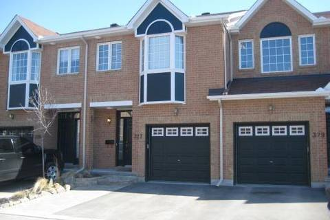 Townhouse for sale at 327 Freedom Pt Ottawa Ontario - MLS: 1149996