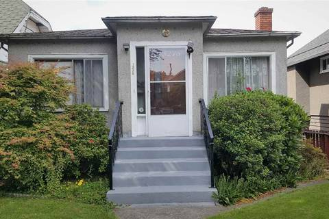 House for sale at 3275 20th Ave E Vancouver British Columbia - MLS: R2447093