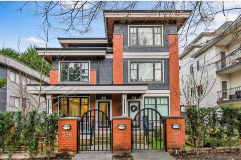 Townhouse for sale at 329 7th Ave E Vancouver British Columbia - MLS: R2428671