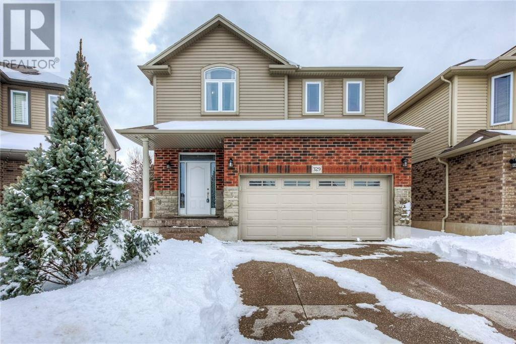 House for sale at 329 Westpark Cres Waterloo Ontario - MLS: 30795373