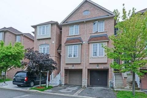 Townhouse for sale at 3293 Redpath Circ Mississauga Ontario - MLS: W4482096