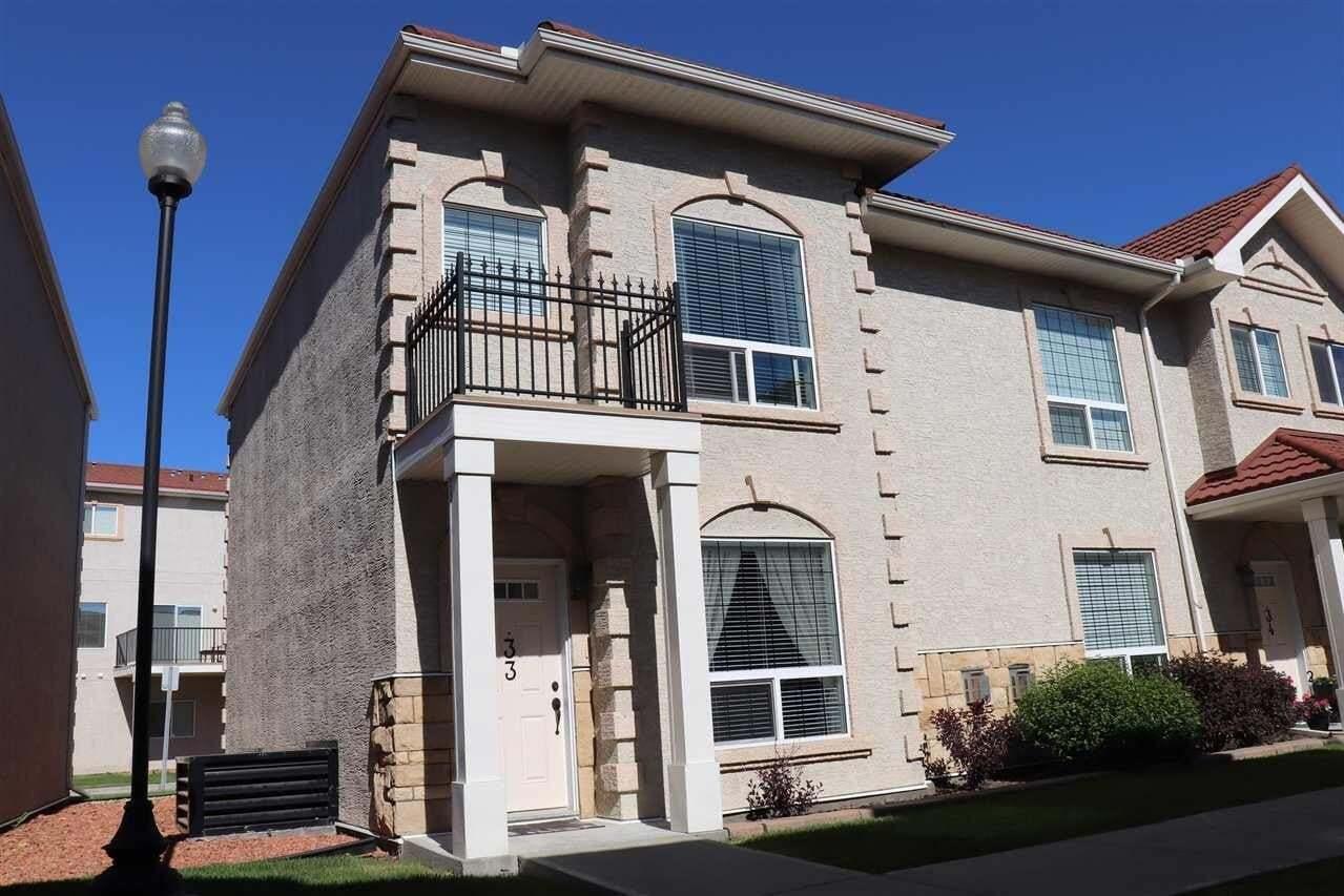 Townhouse for sale at 13825 155 Av NW Unit 33 Edmonton Alberta - MLS: E4201561