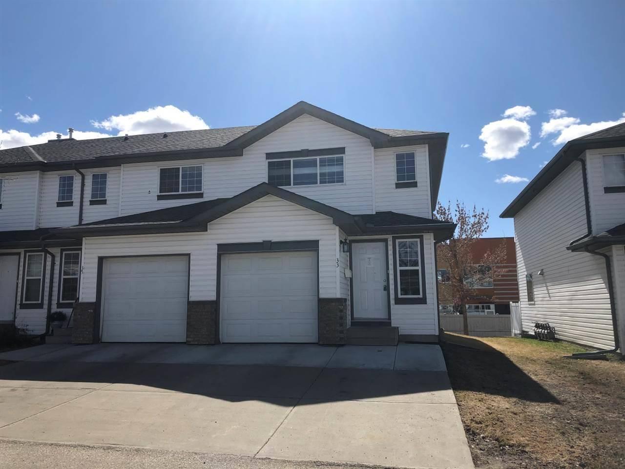 Townhouse for sale at 16823 84 St Nw Unit 33 Edmonton Alberta - MLS: E4194650