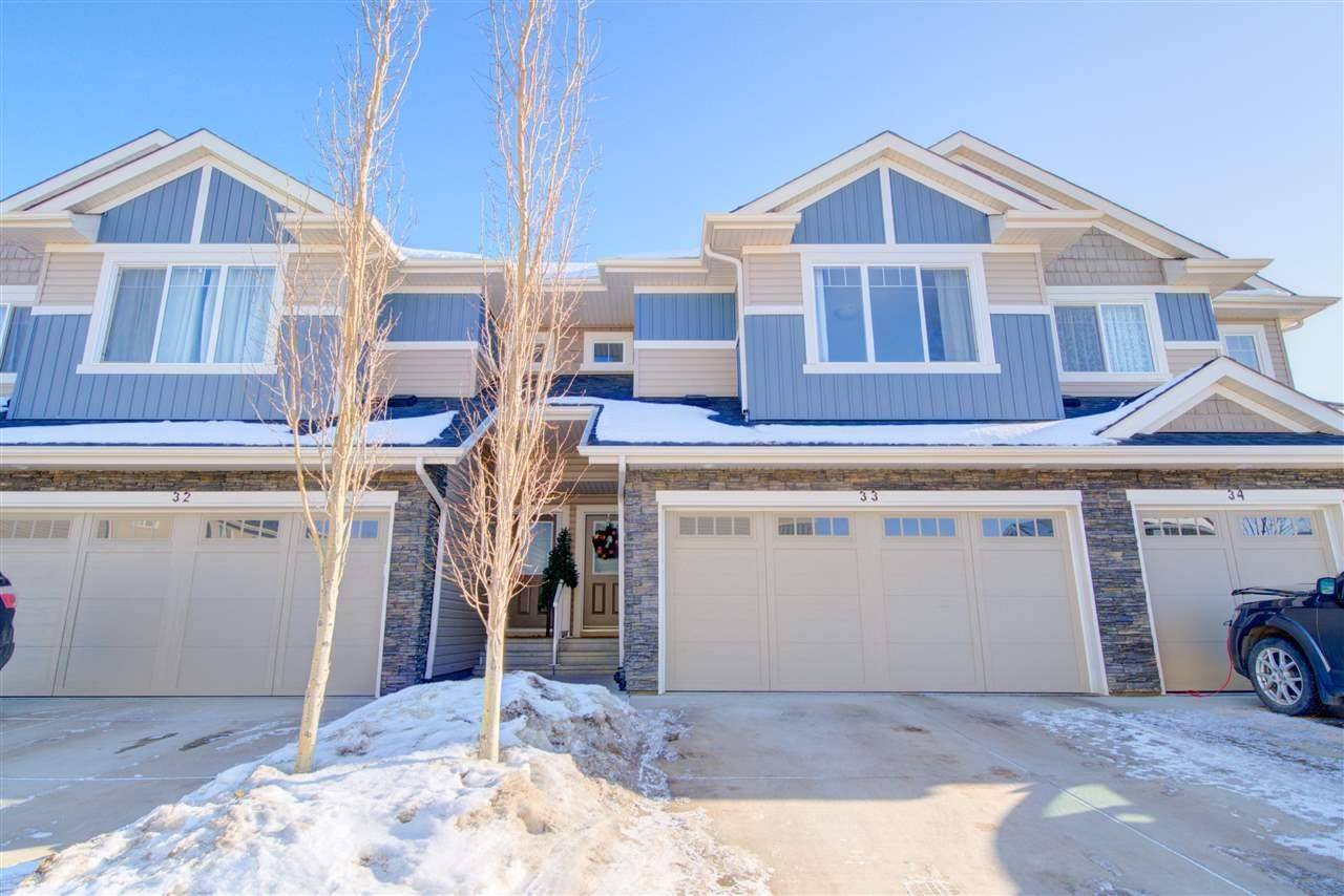 Townhouse for sale at 2004 Trumpeter Wy Nw Unit 33 Edmonton Alberta - MLS: E4187492
