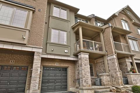 Condo for sale at 2086 Ghent Ave Unit 33 Burlington Ontario - MLS: W4719321