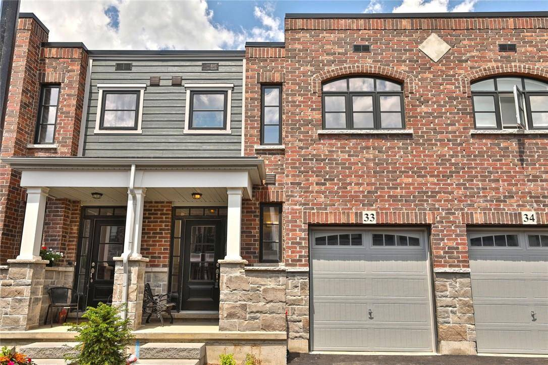 Townhouse for sale at 219 Dundas St Unit 33 Waterdown Ontario - MLS: H4059737