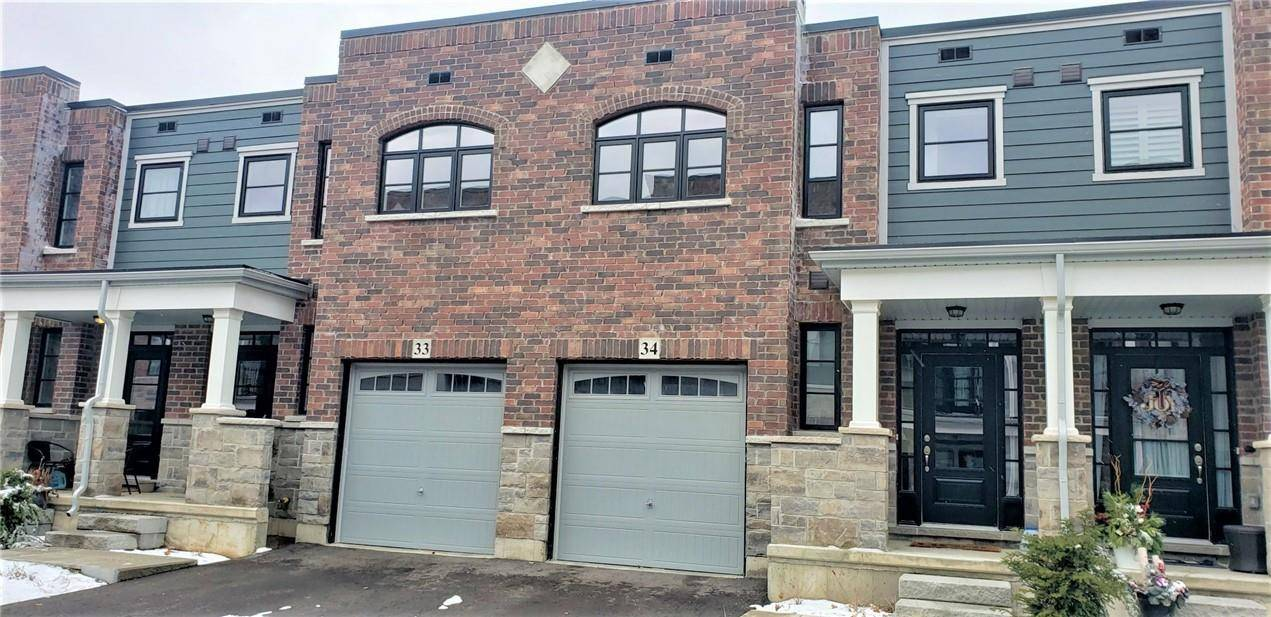 Townhouse for sale at 219 Dundas St Unit 33 Waterdown Ontario - MLS: H4068792