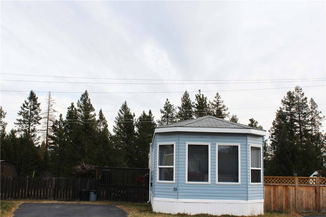 Residential property for sale at 2424 Industrial Road 2 Road Nw  Unit 33 Cranbrook North British Columbia - MLS: 2441977