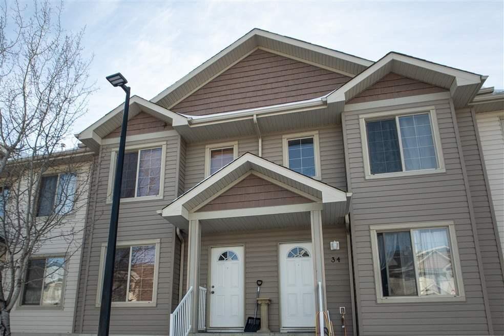 Townhouse for sale at 290 Spruce Ridge Rd Unit 33 Spruce Grove Alberta - MLS: E4202331