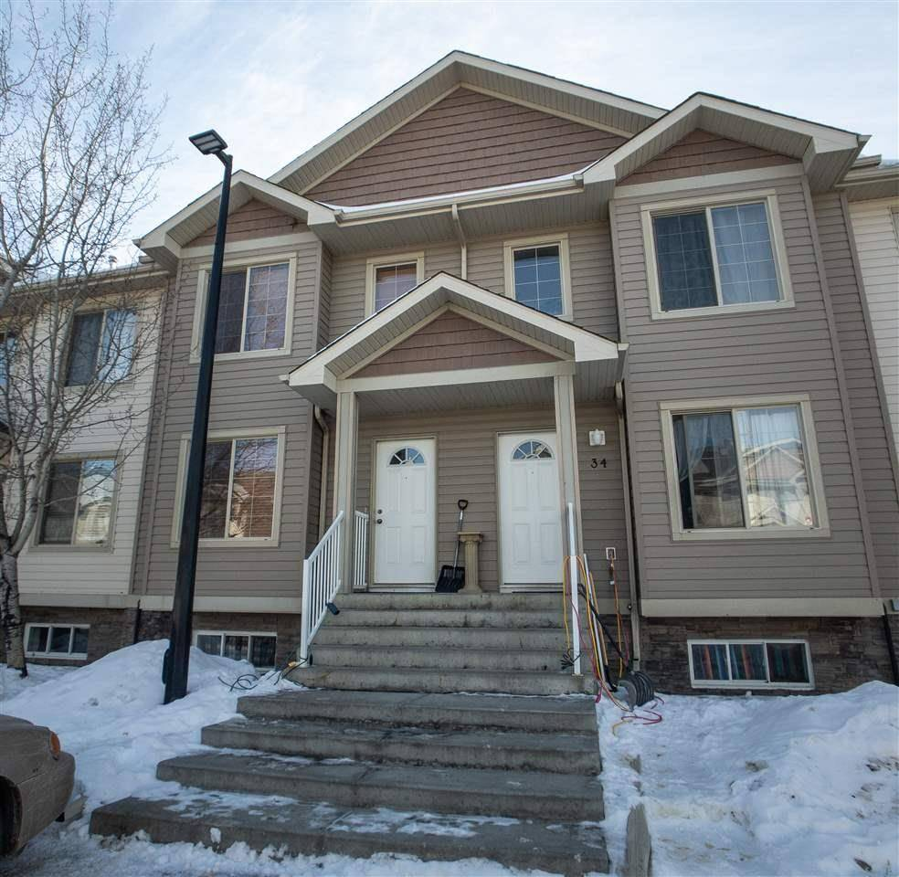 Townhouse for sale at 290 Spruce Ridge Rd Unit 33 Spruce Grove Alberta - MLS: E4188582