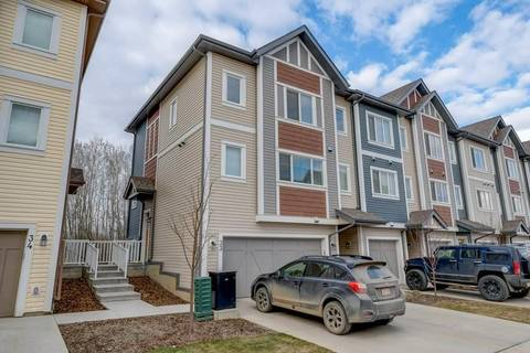 Townhouse for sale at 320 Secord Blvd Nw Unit 33 Edmonton Alberta - MLS: E4152628