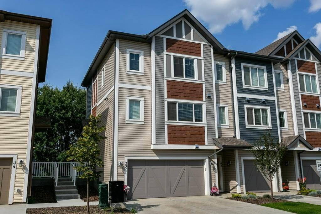 Townhouse for sale at 320 Secord Blvd Nw Unit 33 Edmonton Alberta - MLS: E4168093