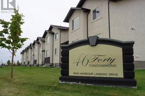 Townhouse for sale at 4640 Harbour Landing Dr Unit 33 Regina Saskatchewan - MLS: SK743183