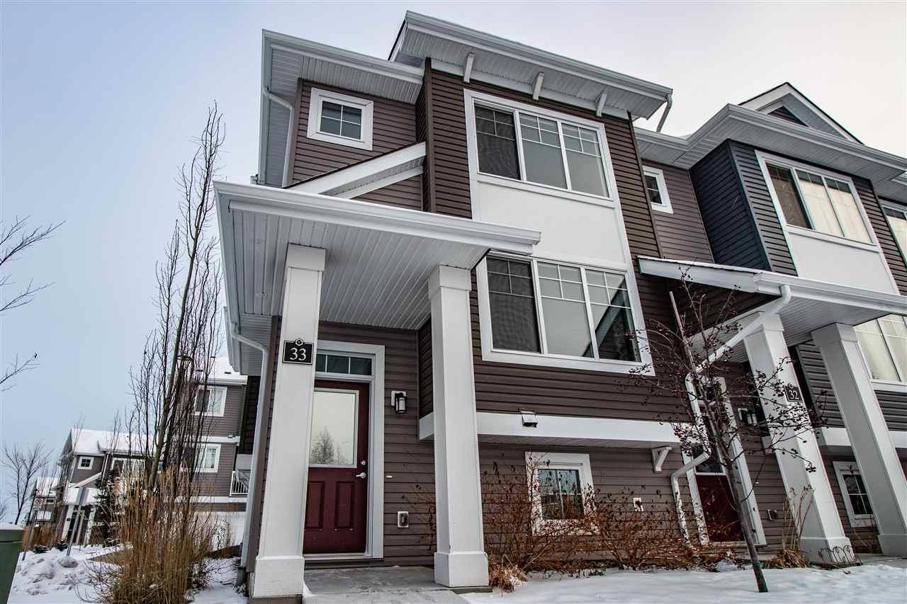 Townhouse for sale at 5203 149 Ave Nw Unit 33 Edmonton Alberta - MLS: E4182253