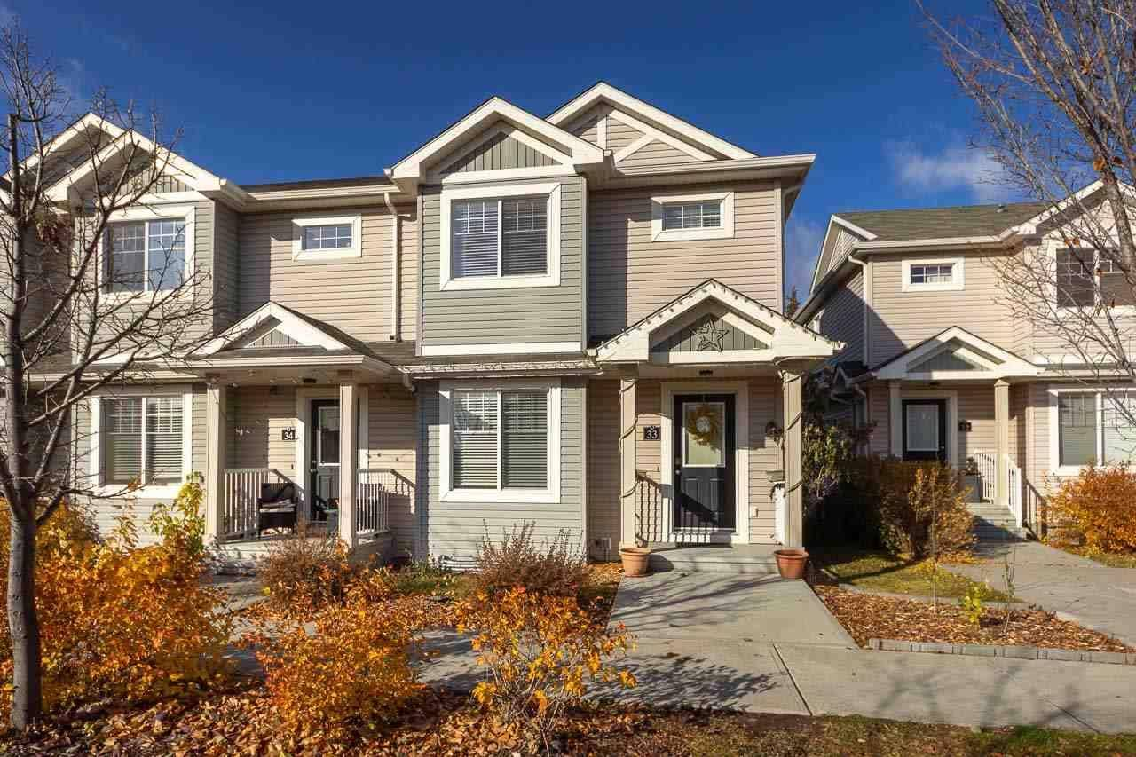 Townhouse for sale at 6032 38 Ave Nw Unit 33 Edmonton Alberta - MLS: E4177512