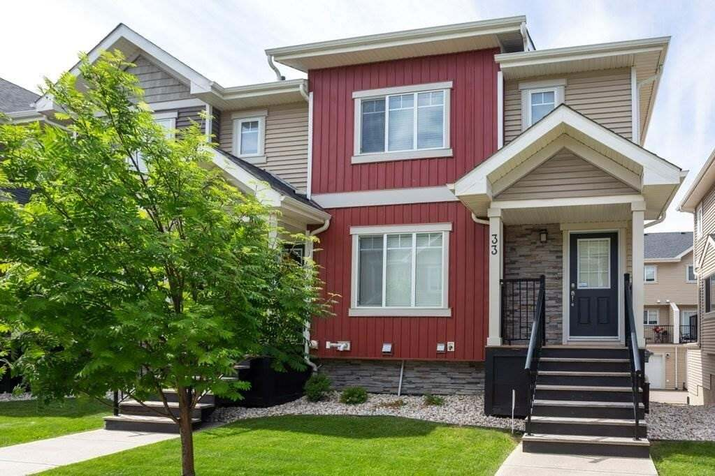 Townhouse for sale at 675 Albany Wy NW Unit 33 Edmonton Alberta - MLS: E4202379