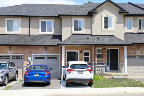 Townhouse for sale at 9 Hampton Brook Wy Unit 33 Hamilton Ontario - MLS: X4856885