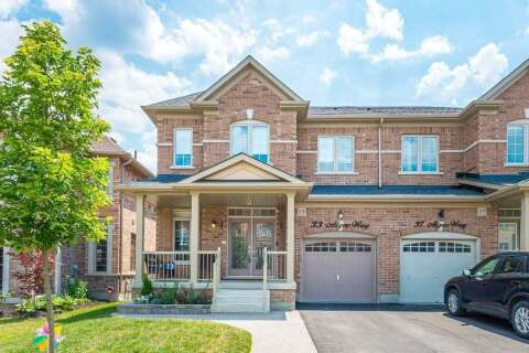 Townhouse for sale at 33 Algeo Wy Bradford West Gwillimbury Ontario - MLS: N4825229