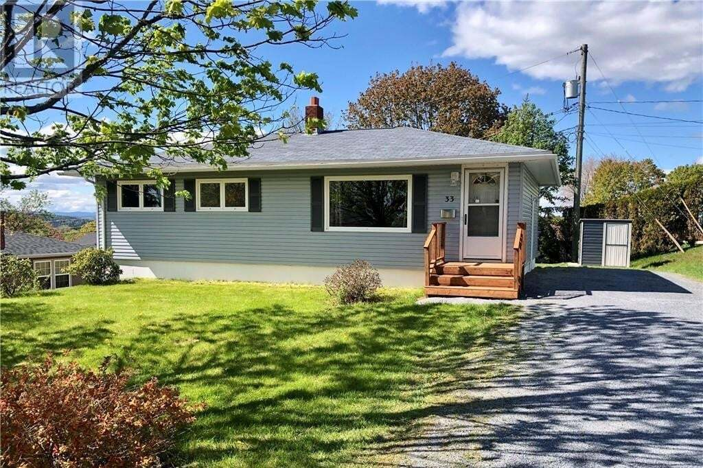 House for sale at 33 Alpine St Saint John New Brunswick - MLS: NB044040