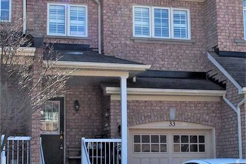 Townhouse for sale at 33 Amulet Cres Richmond Hill Ontario - MLS: N4399088