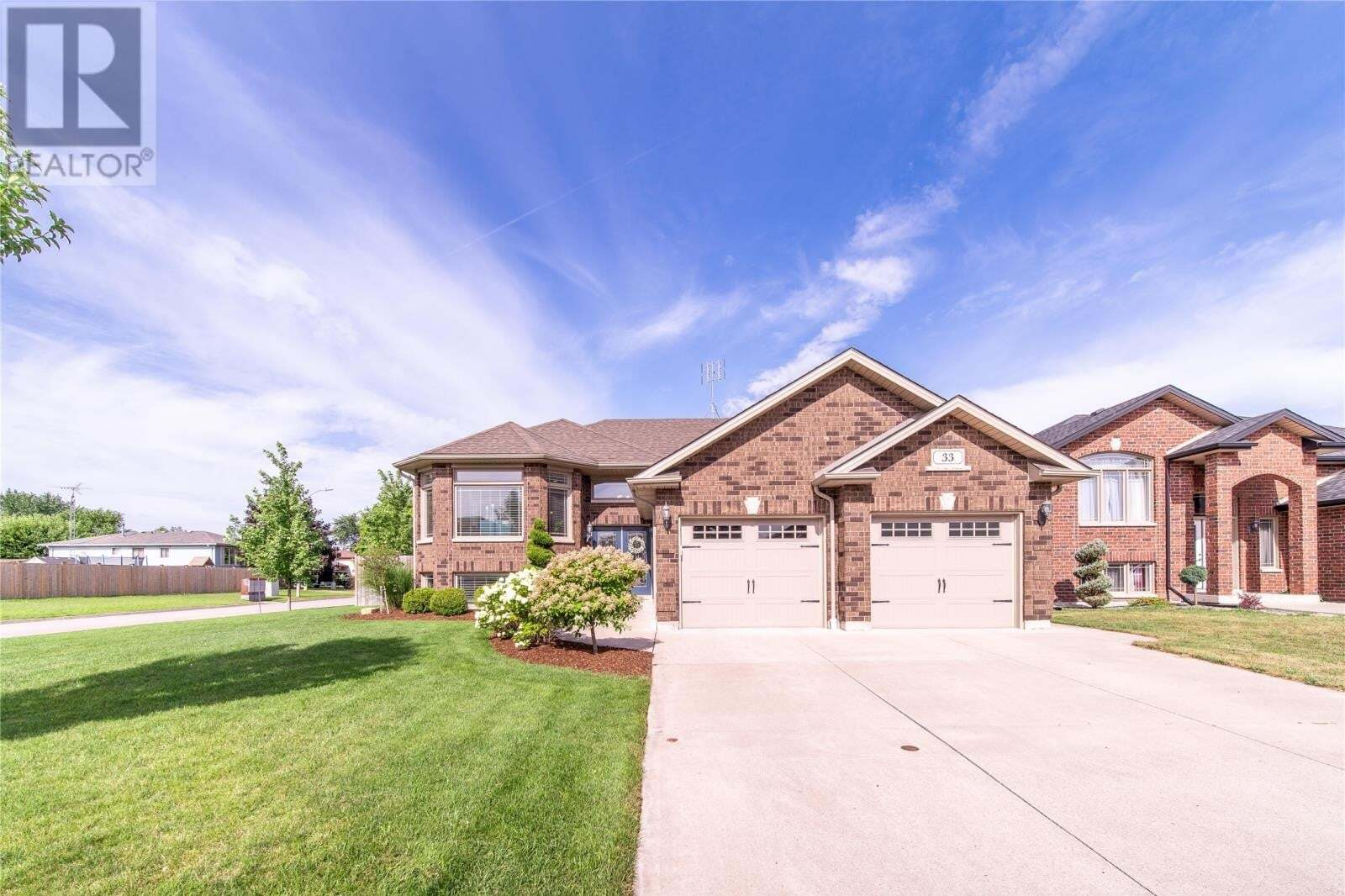 House for sale at 33 Antonio Ct Leamington Ontario - MLS: 20009575