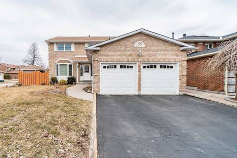 House for sale at 33 Barr Cres Brampton Ontario - MLS: W4448292