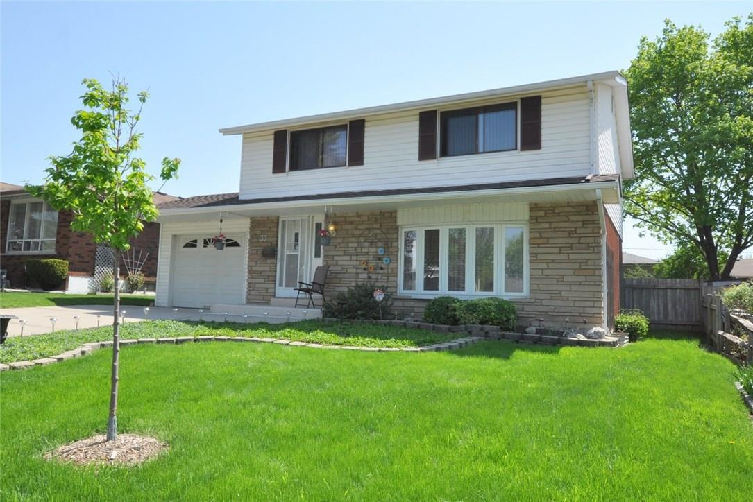 Removed: 33 Bluebird Avenue, Hamilton, ON - Removed on 2018-06-06 10:02:41