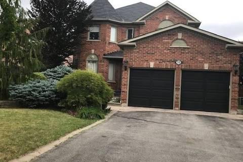 House for sale at 33 Cherokee Dr Vaughan Ontario - MLS: N4518190