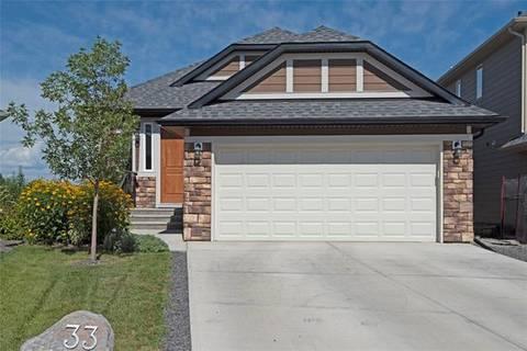 House for sale at 33 Cimarron Springs Circ Okotoks Alberta - MLS: C4244740