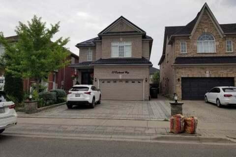 House for rent at 33 Eastbrook ( Upper ) Wy Brampton Ontario - MLS: W4806172